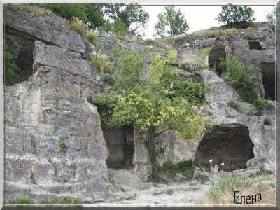 История пещерных городов Крыма - Чуфут-Кале, Мангуп-Кале, Тепе-Кермен