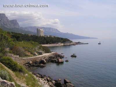 Красивый отдых на южном берегу Крыма возле Симеиза