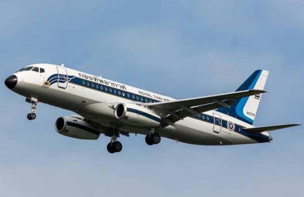ГСС поставили третий Sukhoi Business Jet в Таиланд